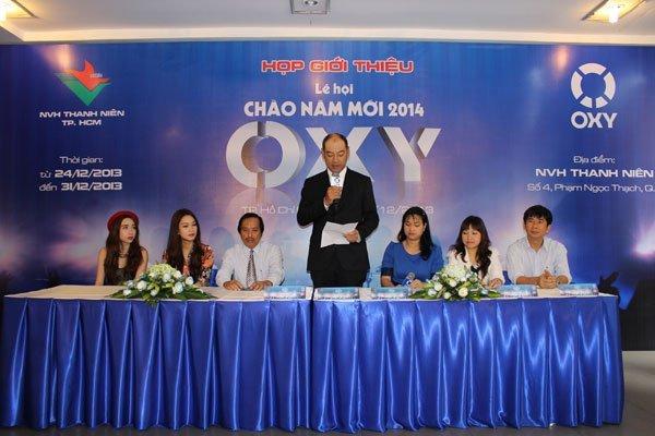Nhãn hàng Oxy tổ chức Tuần lễ Chào năm mới 2014