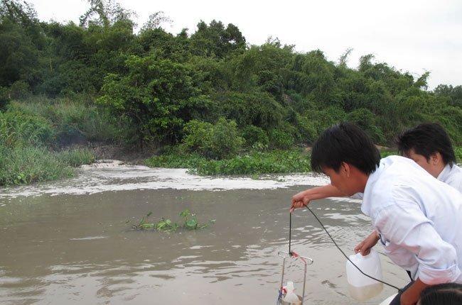 Kiểm soát chặt nguồn xả nước thải chống ô nhiễm môi trường