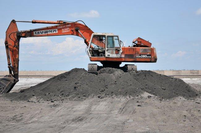 Sản xuất gạch không nung từ tro xỉ nhiệt điện