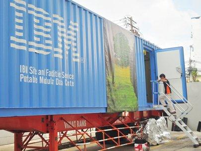 IBM cung cấp trung tâm dữ liệu di động