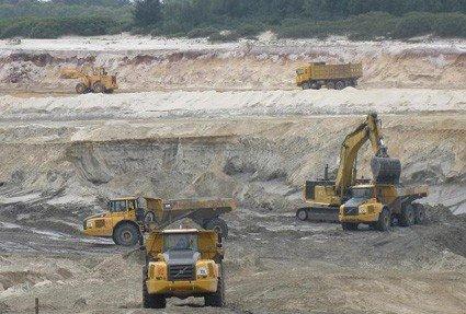 Mỏ sắt Thạch Khê dự kiến sẽ khai thác quặng sắt chính thức sau 2 - 3 năm nữa - Ảnh: báo Hà Tĩnh.