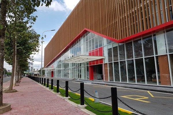 Trung tâm thương mại Big C GO của Central Group Việt Nam tại TP. Mỹ Tho sẽ được khai trương vào tháng 11-2018 và là nơi tiêu thụ nông sản của nông dân Tiền Giang. Ảnh: Trung Chánh