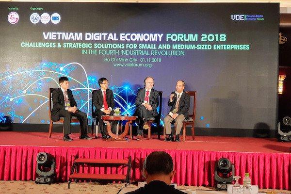 VDE Forum 2018: Dữ liệu là yếu tố cốt lõi trong quá trình chuyển đổi số