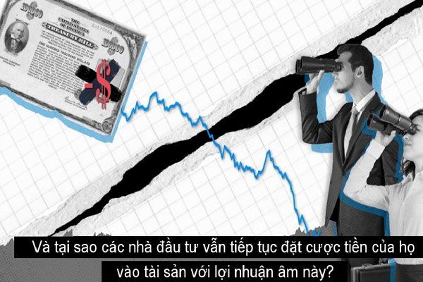 Nghịch lý từ trái phiếu lợi suất âm